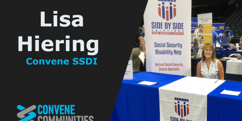 Convene SSDI with Lisa Hiering
