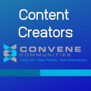 Convene Content Creators