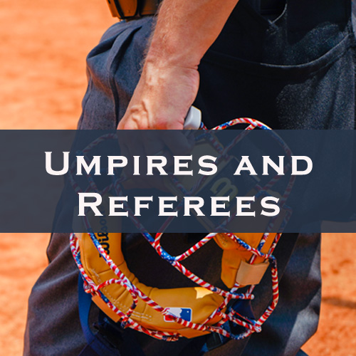 Umpires and referees