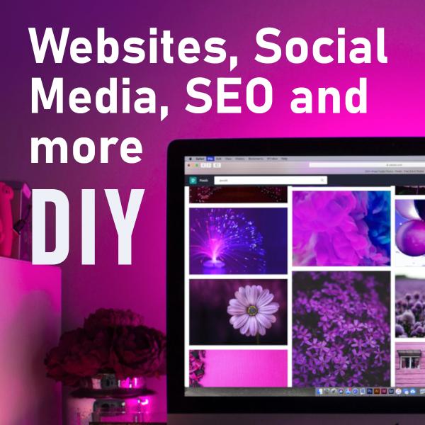 DIY Websites Social Media SEO and more
